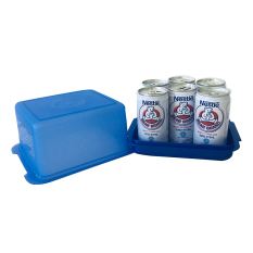 Bear brand isi 6x189ml Gratis Table Container