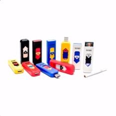 CDS korek Api Elektrik Lighter USB Anti Angin - Random Color