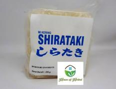 Dry Shirataki - Mie Kering Shirataki Low Carb 250G Keto Friendly