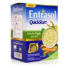 Entrasol Quick Strat Cereal Vanilla Vegie 5x30gr