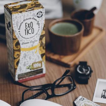 Exotico Slimming Green Coffee 5x20g, Paket 4 Box - 2