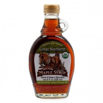 harga Great Northern Pure 100 % Organic Maple Syrup Lazada.co.id