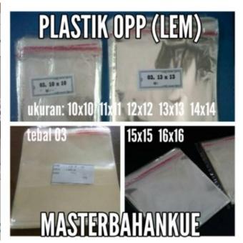 harga HBT Plastik OPP 10 X 10 cm Lazada.co.id