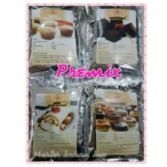 HBT Premix muffin, brownies, donat,roll tart 500gr Premix Donut. >>>>