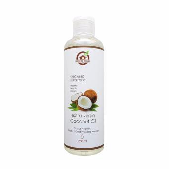 Harga HouseOfOrganix Extra Virgin Coconut Oil 250 Ml Online Murah