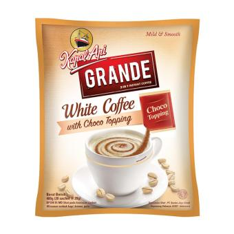 Harga Kapal Api Grande White Coffee Topping Bag ( 20 Sachet @20 Gram)