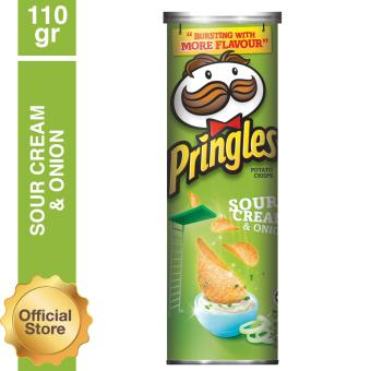 Harga Pringles Sour Cream & Onion 110gr