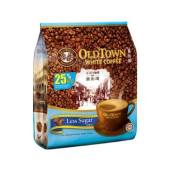 Harga Old Town White Coffee 3in1 Less Sugar 40g X 15s