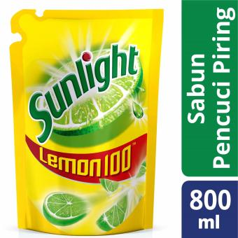 Harga Sunlight Lemon - 800 mL