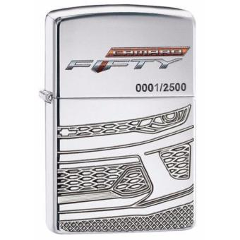 Harga Zippo Original 29478 Chevrolet Camaro 50th Anniversary Limited Edition Made In USA