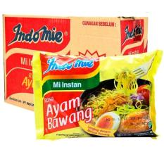 Indomie Mie Instan Rasa Ayam Bawang New - 72gr - Karton Isi 40 -Free caos abc 5 saset