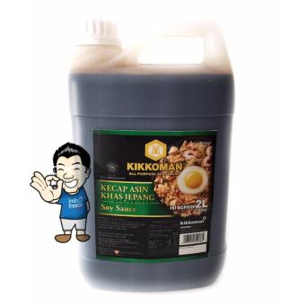 harga Kikkoman Soy Sauce- Kecap Jepang Jerigen 2L Lazada.co.id