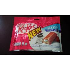 Kitkat Mini isi 8 pcs @ 1 finger rasa cookies n cream