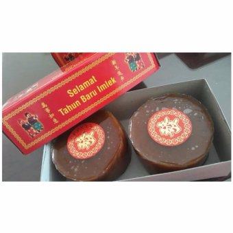 Kue Cina - Kue Keranjang - Kue Imlek Nian Gao (Persegi/Isi 2 Besar)