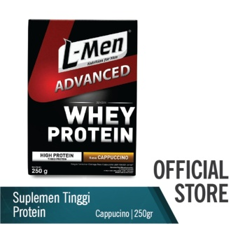 L-Men Hi Protein Whey Advanced Cappuccino 250 g