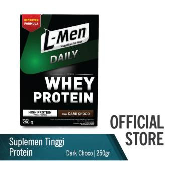 L-Men Hi Protein Whey Daily Dark Chocolate (250g)