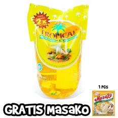 Minyak Goreng Tropical Pouch 2 Liter Murah + Bonus Masako