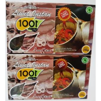 Nasi 1001 Liwet Cumi 2 Boxes @250 gr