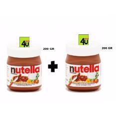 Nutella Spread 200 gr - 2 Botol