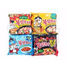 Paket Samyang 4 Rasa Stew Cool Cheese Curry Isi 4