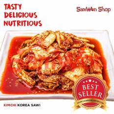 Samwon - Kimchi Sawi Fresh - 500 Gram - Makanan Korea
