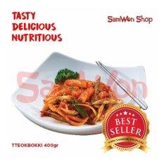 Samwon Tteokbokki / Tokpoki 400 Gr Fresh - Samwon Makanan Korea Enak Lezat Bergizi (Kue Beras Korea)