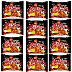 SAMYANG HOT CHICKEN RAMEN SPICY 140 gr @ 12 Bungkus Korea Murah