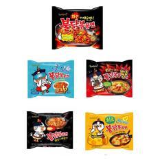 Samyang Hot Noodles Series 5pcs (Chicken, Cheese, Stew, Cool, Extremly Hot)   Tulis Ulasan Untuk Produk Ini