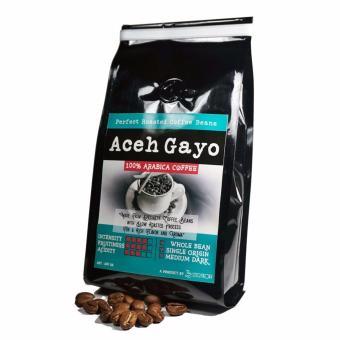 Sentra Kopi - Aceh Gayo Arabika Whole Bean / Biji Kopi Roasted Arabica 200 Gram