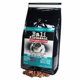 Sentra Kopi - Bali Kintamani Arabica Whole Bean / Biji Kopi Roasted Arabika 200 Gram