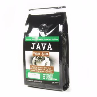 Sentra Kopi - Java House Blend - BIJI 200 Gram - Arabica &Robusta Blend Coffee