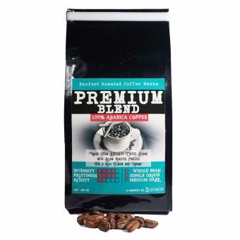 Sentra Kopi - Premium Blend Whole Bean / Biji Kopi Roasted Arabika200 Gram - 2
