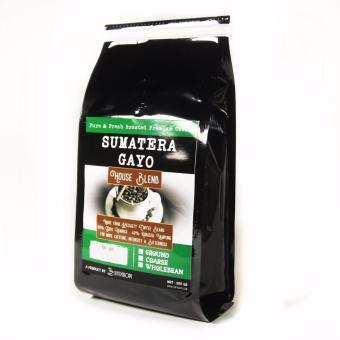 Sentra Kopi - Sumatera Gayo House Blend - Bubuk 200 Gram - Arabica& Robusta Blend Coffee