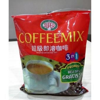 Detail Gambar Produk Super Coffeemix 3in1 600G 30'S free 5's Terbaru