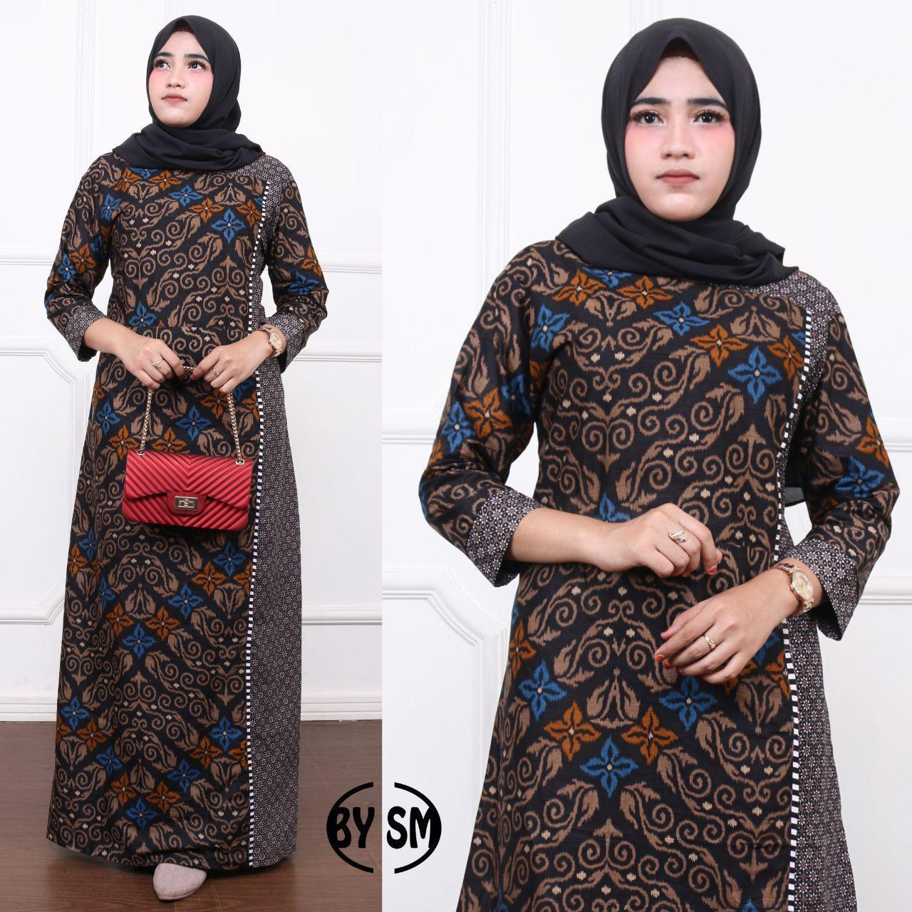 Gamis Batik Sofi Standar Ajimodel Baju Gamis Terbaru 2019 Gamis Murah Gamis Ori Busana Muslim Gamis Batik Gamis Modern Grosir Gamis Baju