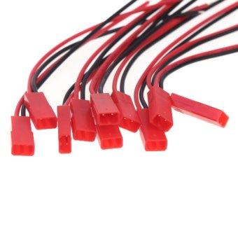 10 pasang 100 mm jantan dan betina JST steker untuk rc lain Lipo bagian konektor - 5