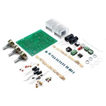 harga 12V 30W DIY TDA2030A Dual Track Power Amplifier Board Kit - intl Lazada.co.id