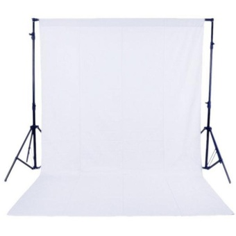 1.6 x 3M / 5 x 10FT Photography Studio Non-woven Backdrop / Background Screen White ^ - intl