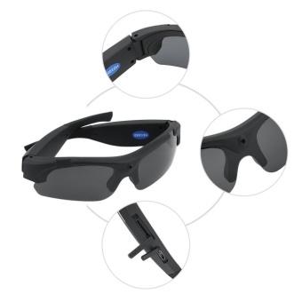 harga 1x 32GB Sunglasses Cam Eyewear Audio Video Camcorder DV DVR HiddenSpy Camera - intl Lazada.co.id