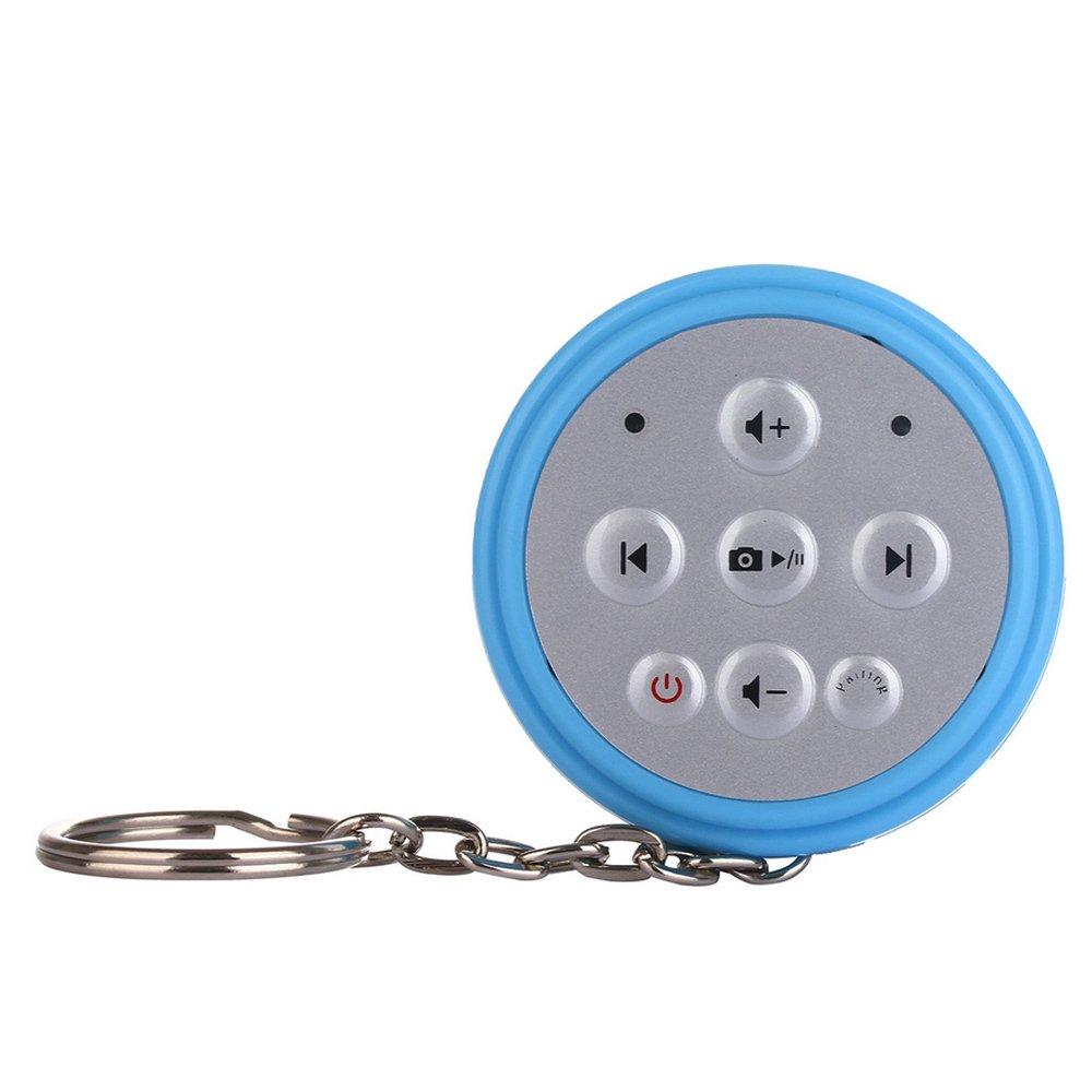2 in 1 Mini Portable Wireless Bluetooth Remote Shutter Camera SelfTimer Music Player Remote Control for