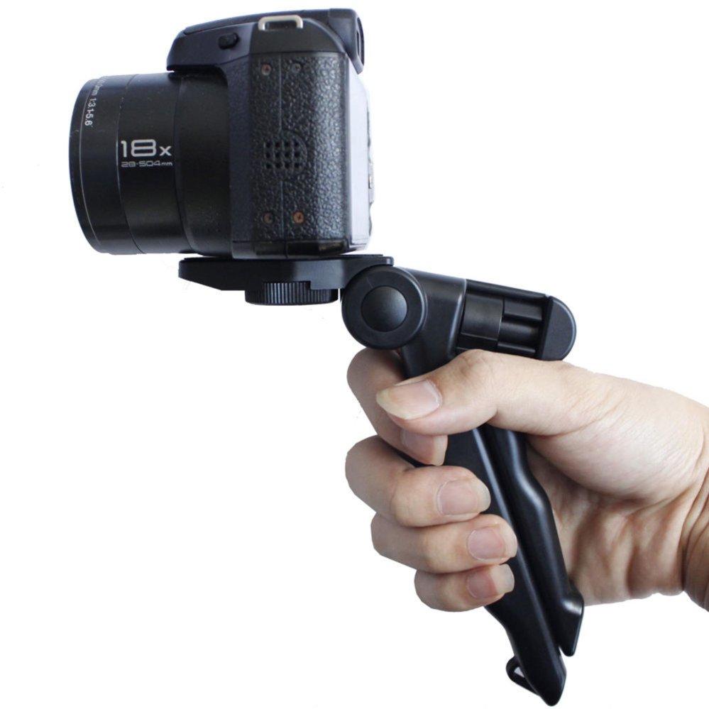 2 in1 Portable Mini Hand Grip Folding Tripod Monopod Stand forGopro Hero 1 .