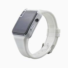 2016 Baru Bluetooth Smart Watch X6 Smartwatch Sport Jam Tangan untuk Apple IPhone Android Ponsel dengan Kamera FM Mendukung SIM Kartu P130 Putih-Intl