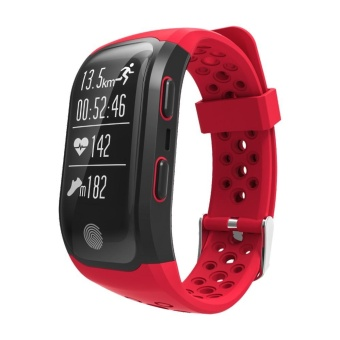 2017 Newest S908 GPS Sport Smart Band Heart Rate IP68 WaterproofSleep Monitor Pedometer Smart Bracelet For Android IOS Phone - intl