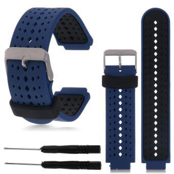 22mm Silicone Wristband Watch Straps for Garmin Forerunner 235 630230 GPS Watch - intl ...