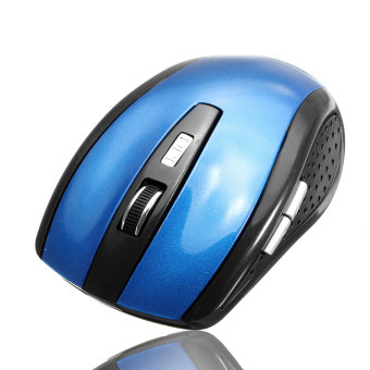 2.4 Ghz High Qulity Rancangan RF Wireless Mouse Optik/tikus + USB 2.0 Untuk PC