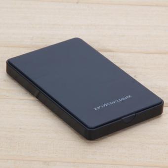 """2.5 \"""" USB 2,0 SATA Hd Box HDD harddisk eksternal Case penutup ("""