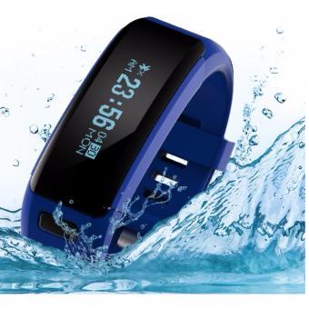2Cool Smart Bracelet with WaterProof IP68 Swiming Water Resistant Bracelet Touch Screen Pedometer Bluetooth 4.0 Heart