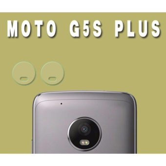 2xBack Camera Glass Lens Transparent Protective Film Sticker For Motorola Moto G5S Plus - intl