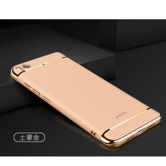 3 in 1 PC Protective Back Cover Case For Xiaomi Mi 5s (Gold) - intl