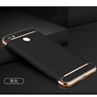 3 in 1 PC Protective Back Cover Case For Xiaomi Mi Max (Black) -intl